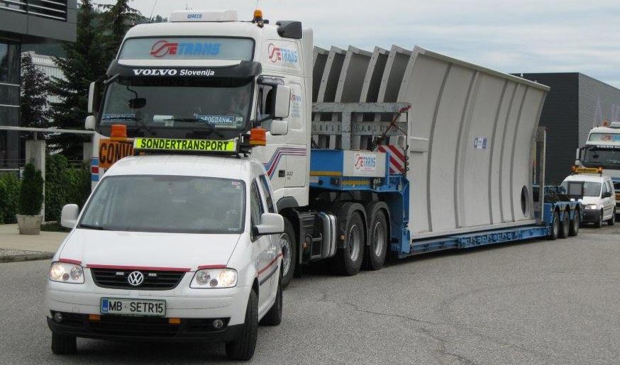 SETRANS Spremstvo izrednega prevoza